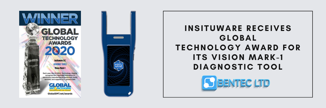 Insituware Receives GLOBAL Technology Award for Its Vision MARK-1 Diagnostic Tool