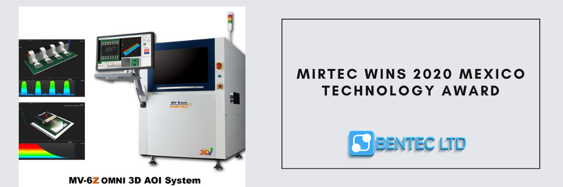 MIRTEC Wins 2020 Mexico Technology Award